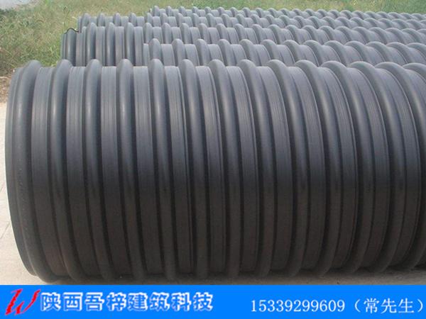 HDPE钢带增强螺旋波纹管施工