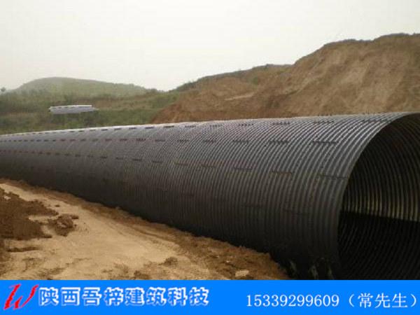 榆商线罗敷高速公路建设pe管施工案例