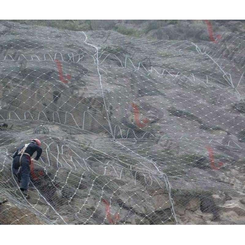在安装四川被动边坡防护网的时候需要注意的事项