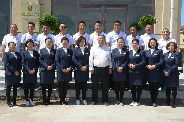 荣威建筑团队照片