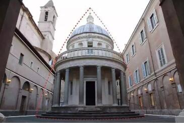意大利文艺复兴纪念性建筑形象——坦比哀多