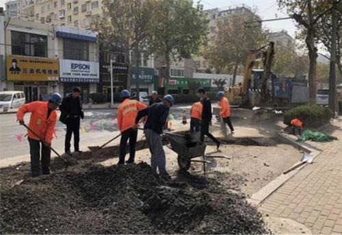 内蒙古市政工程路面修复