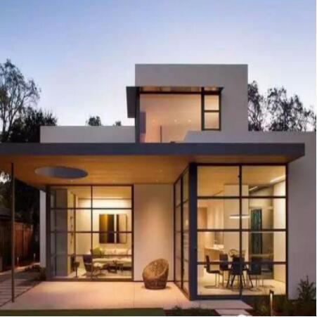 轻钢结构别墅屋