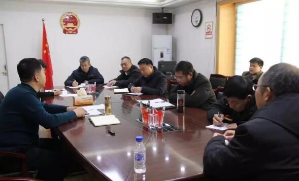 通榆县老城改造房屋征收工作调度会