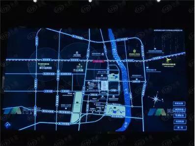 中朵馨园住宅小区1号~3号、5号~12号住宅楼、商业楼施工现场平面图