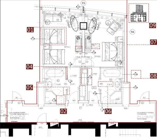 建筑装饰平面图