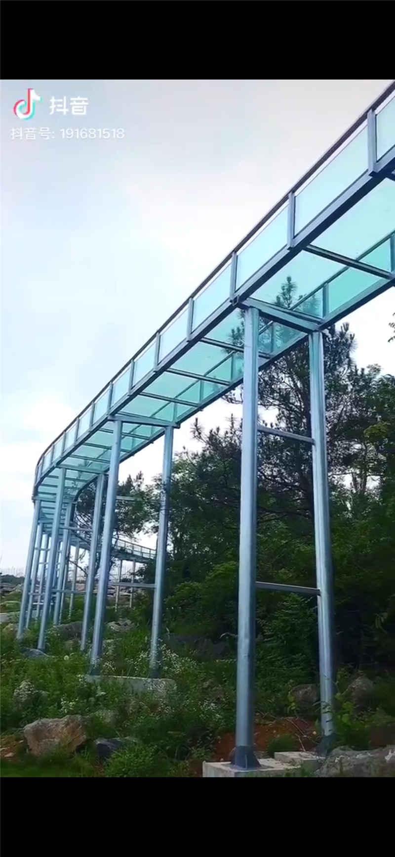 圣境花谷玻璃棧道