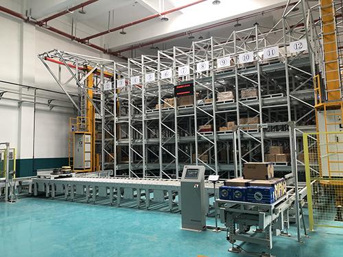 穿梭式自动化立体仓库