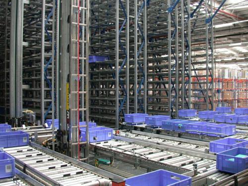 箱式自动化立体仓储系统