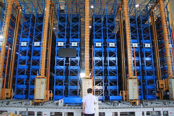 立体仓库堆垛机运行效率优化控制方法
