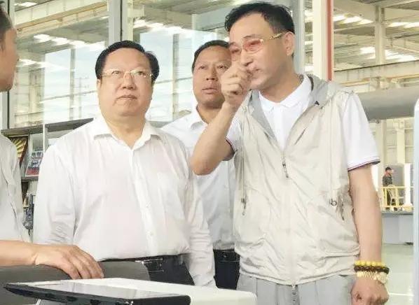 湖北省委副书记、省长王晓东一行莅临华博科技视察指导工作
