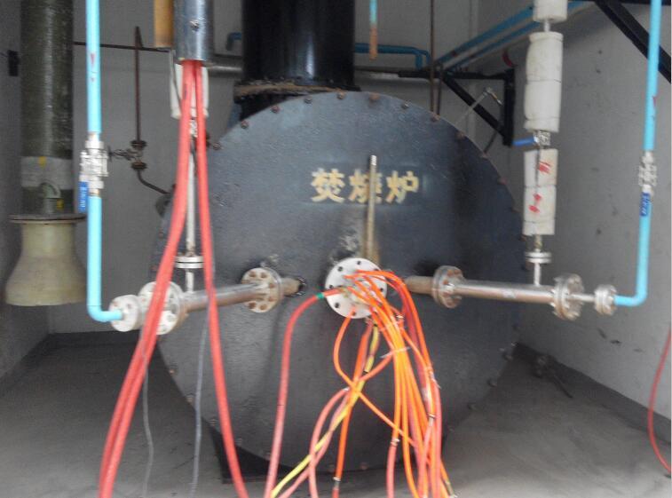 等离子技术处理氟废液焚烧炉