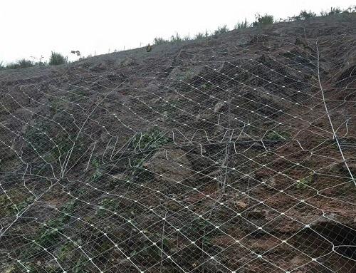 边坡防护网的特点