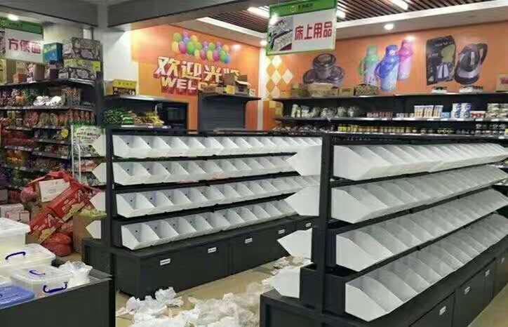宜昌超市零食货架_便利店散装零食货架