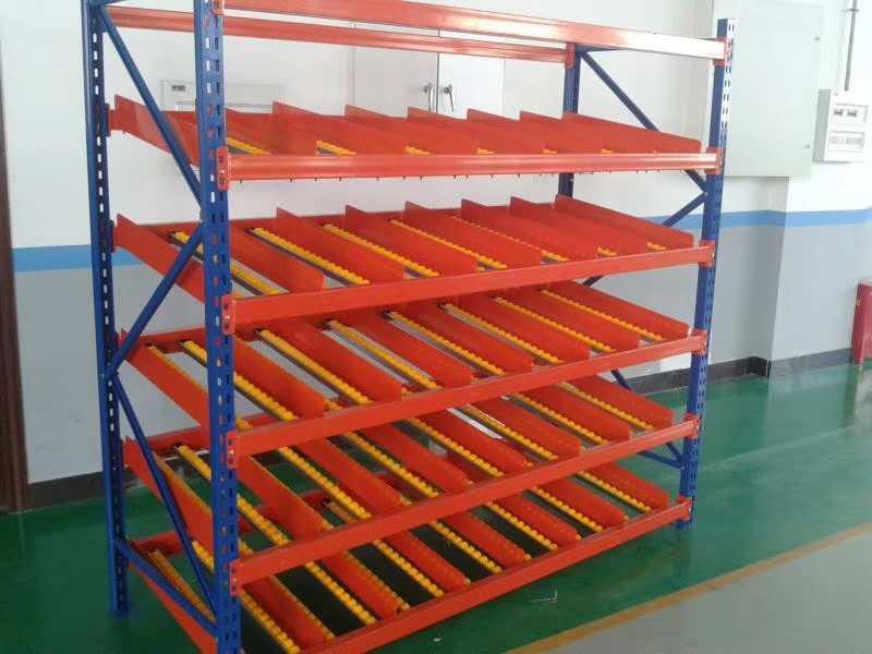 宜昌重型超市货架 蓝色-四层-五层-仓库厂房货架