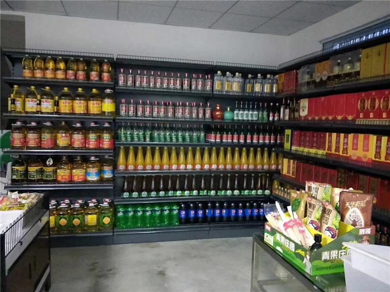 超市粮油货架