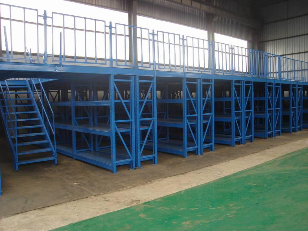 钢平台货架