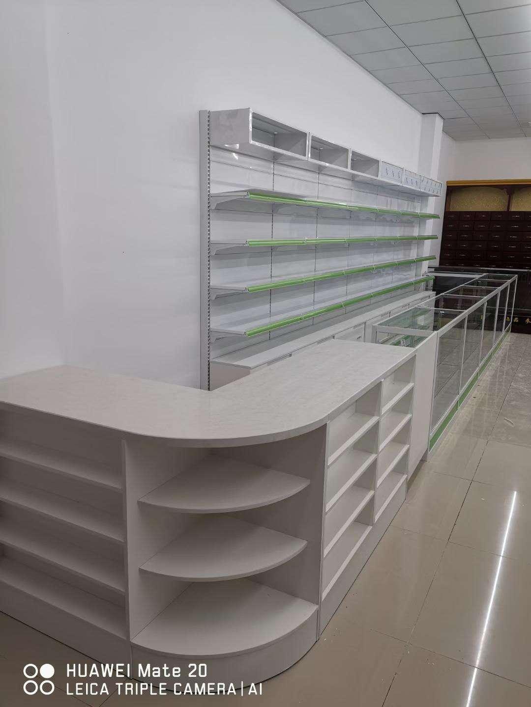 药店展柜安装