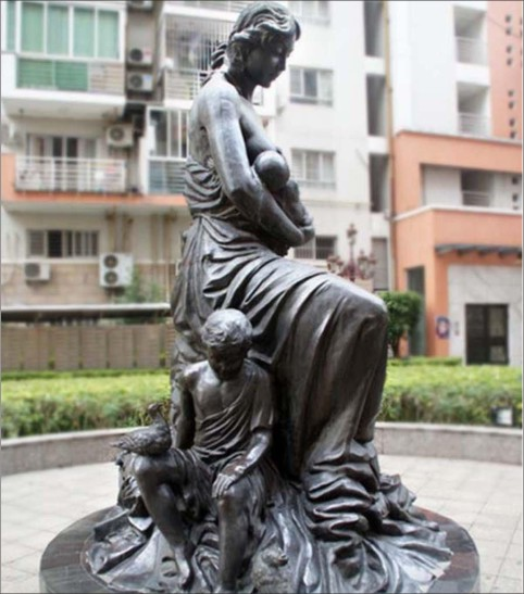人物雕塑施工