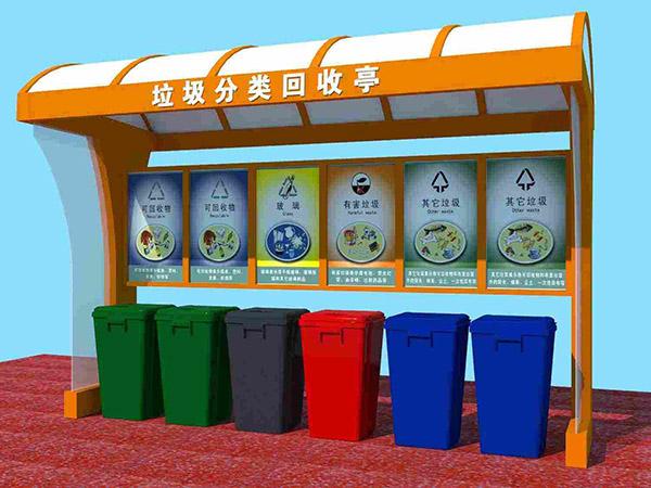 垃圾桶分类标识