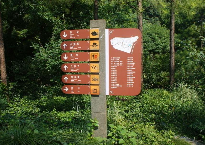 标识标牌有助于提高游客的体验