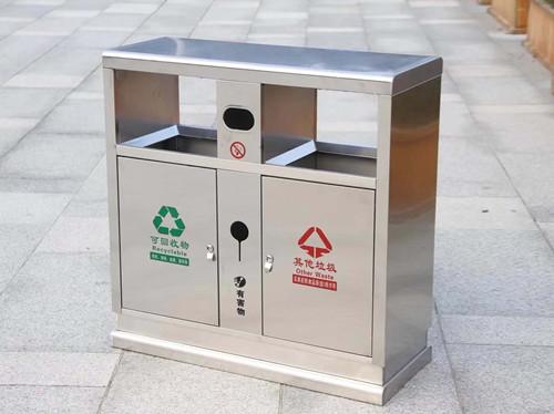 陕西中尧标识为经开区市政垃圾桶定制