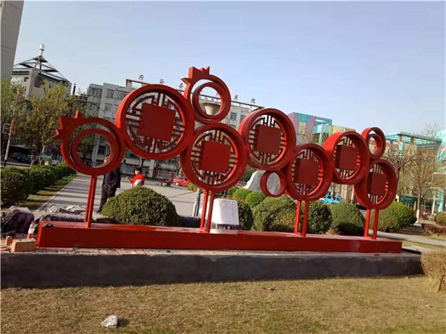 2019年陕北市政雕塑制作安装
