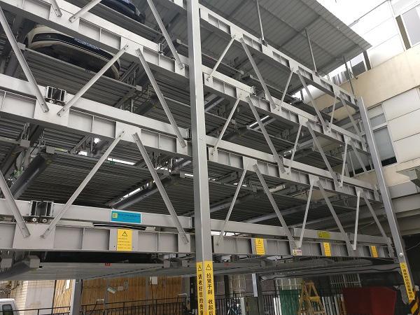 五层升降横移类立体车库项目