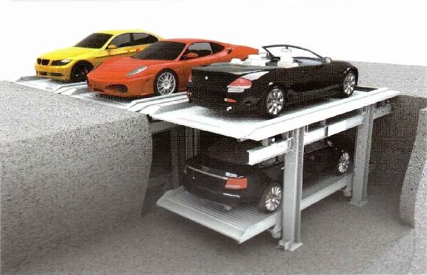 地坑式升降横移类停车设备