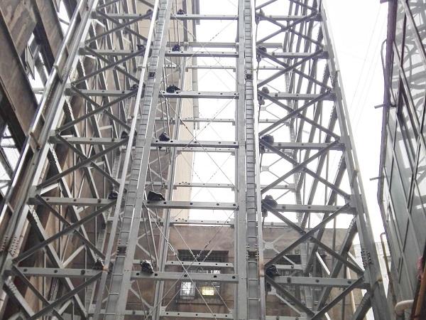 12层垂直升降类立体车库项目