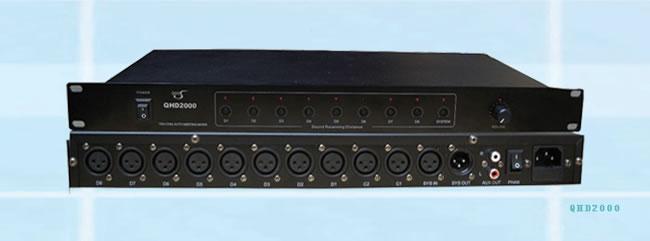 JHS京宏声会议系统智能混音器QHD2000