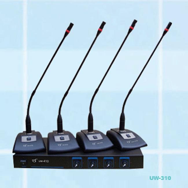 JHS京宏声无线一拖二四八会议传声器UW-310