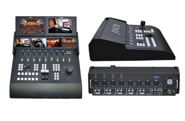 凯迪 KD-LCC900H-4便携式全能特技切换台