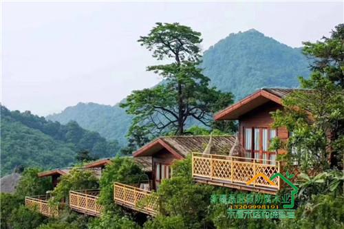 新疆景区木屋案例