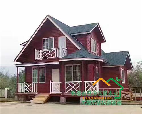 新疆木屋别墅设计案例
