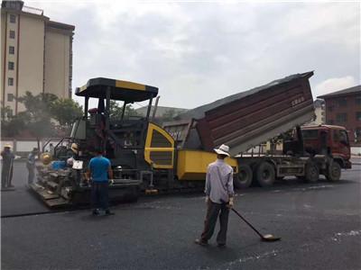 西安沥青道路施工