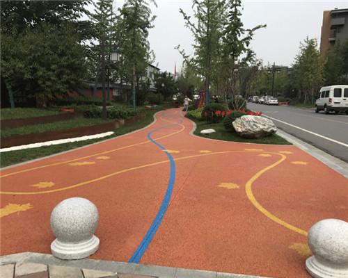 陕西嘉源鑫达讲解彩色沥青路面主要用途有哪些?