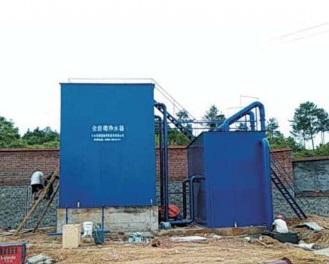 貴州凈水設備安裝現場