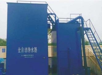 广安净水设备安装案例