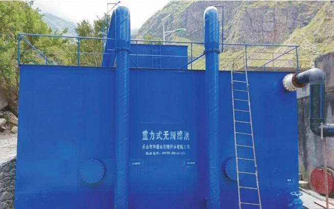四川净水设备-重力式无阀滤池
