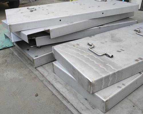 不锈钢加工现场