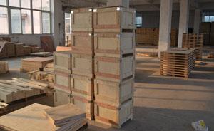 木包装箱制作区域