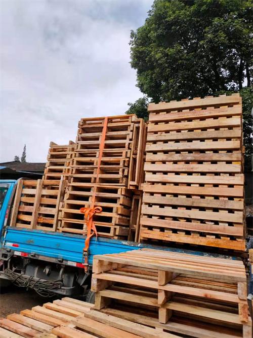 成都木托盘送货案例