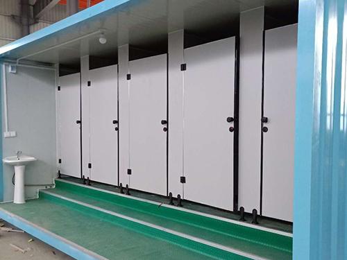 定制款成都集装箱厕所更合适各场合应用