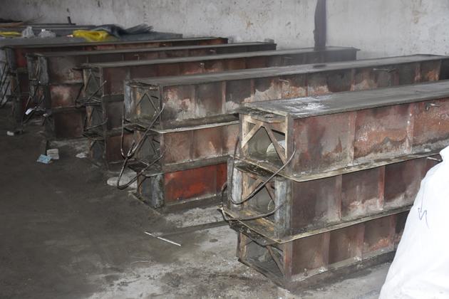 排烟气道生产设备
