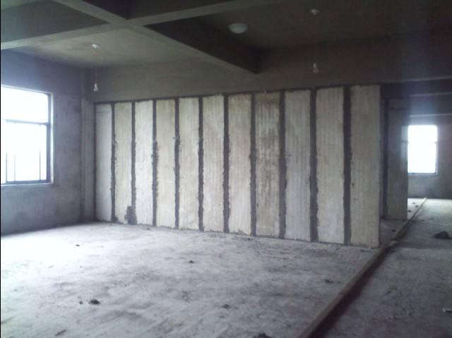 水泥隔墙板施工