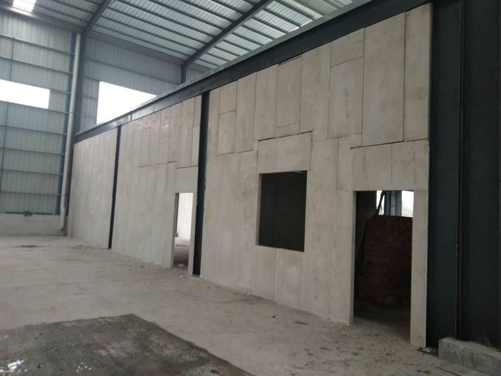南阳某工厂与玉顺合作隔墙板使用工程案例。