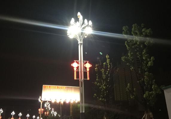 兰州太阳能路灯_兰州新区项目