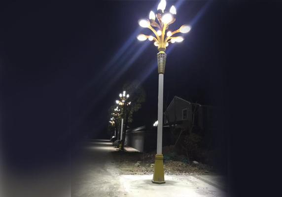 甘肃路灯安装_兰州路灯价格