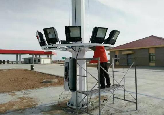 新疆乌鲁木齐太阳能路灯安装